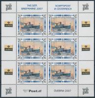 2007 Bélyegnap; Hajó kisív Mi 2669