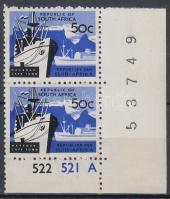 1961 Forgalmi érték ívsarki párban Mi 298