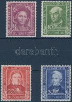 1949 Híres emberek sor Mi 117-120