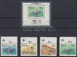 Exploration of the sea margin set + block, Tengerkutatás ívszéli sor + blokk