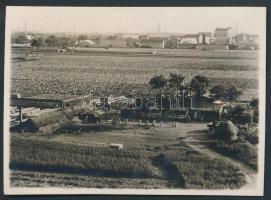 1929. július 5. Budapest, Zugló, jelzés nélküli fotó Kinszki Imre (1901-1945) hagyatékából, a szerző által feliratozva, 6x8,5 cm