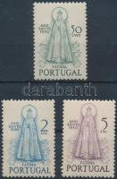 1950 Szent év sorból 3 érték Mi 748, 750-751