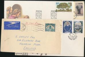 Dél-Afrika 29 db ajánlott ill. alkalmi levél, közte 2 db Délnyugat-Afrika és 1 Venda küldemény