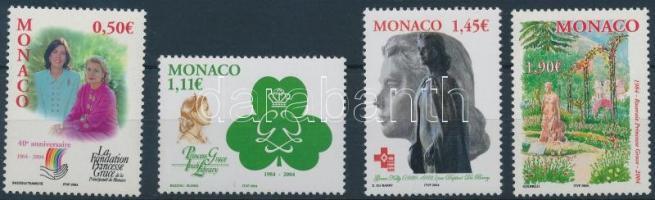 2004 Gracia Patricia hercegnő 75. születésnapja sor Mi 2679-2682