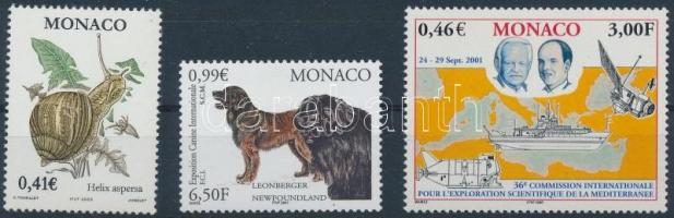 2001-2002 3 klf bélyeg Mi 2548, 2569, 2631