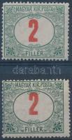 1915 Pirosszámú zöldporto 2f felfelé tolódott értékszámmal