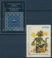 2003 Europa CEPT Plakátművészet sor Mi 279-280