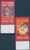 2003 Europa CEPT plakátművészet ívszéli sor Mi 1274-1275
