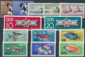 1961-1970 4 db klf teljes sor