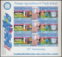 1990 Mezőgazdasági szakiskola kisív Mi 188-192