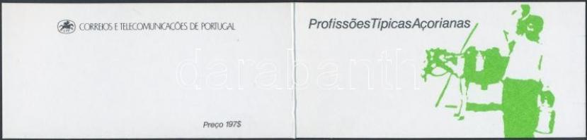 Local professions stamp-booklet, Helyi foglalkozások bélyegfüzet