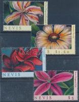 2000 THE STAMP SHOW bélyegkiállítás, dísznövények sor Mi 1627-1630