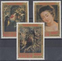 1982 Rubens festmények sor Mi 822-824