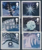 2003 Karácsony öntapadós sor Mi 2164-2169