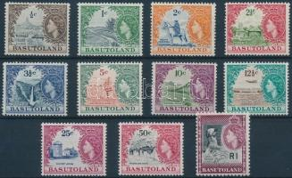 1961/1963 Definitive set, 1961/1963 Forgalmi sor