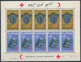 1968 Vörös félhold: ékszerek kisív Mi 620-621