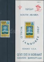 1967 Cserkész világtalálkozó, Idaho Mi 122 A + blokk 10 A
