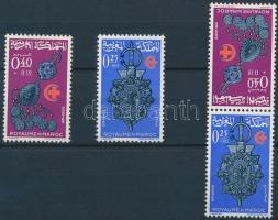 1966 Ékszerek sor + fordított állású pár Mi 568-569