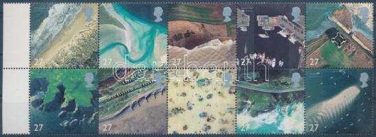 2002 Partvidékek ívszéli tízestömb Mi 1993-2002