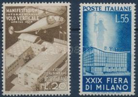 1951 Milánói vásár sor Mi 830-831