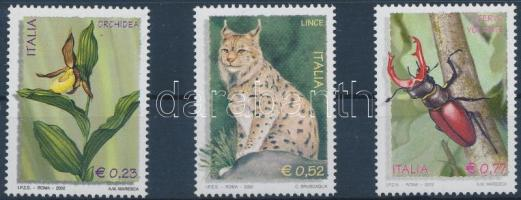 2002 Őshonos élővilág sor Mi 2874-2876