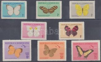 1966 Pillangók sor Mi 868-875