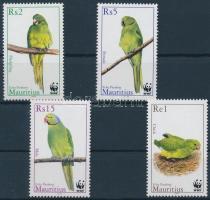 2003 WWF papagájok sor + 4 FDC Mi 963-966