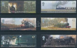 2004 Történelmi vasutak sor Mi 2174-2179