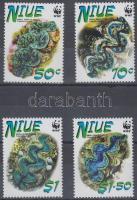 2002 WWF kagylók sor Mi 973-976