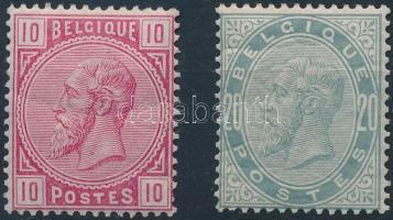 1883 Mi 35-36