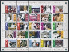 2003 II. János Pál pápa teljes ív Mi 1429-1453