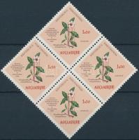 1958 Gyógynövény 4-es tömb Mi 457