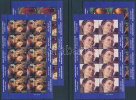 2005 Pietro Vannucci festmények kisívsor Mi 1525-1528 (2 stecklap)
