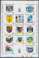 1993 Címerek vágott teljes ív Mi 973-985