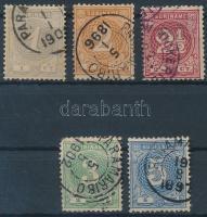 1890 Forgalmi sor Mi 22-26A