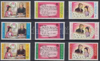 1973 Karácsony sor Mi 1748-1756 + blokk 76