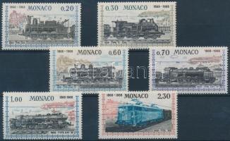 1968 100 éves a vasút sor Mi 896-901