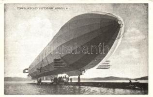 Zeppelinisches Luftschiff Modell 4 / airship