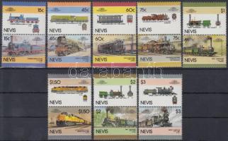 1986 Mozdonyok sor Mi 414-429