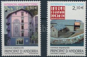 2002 Építészet sor Mi 291-292