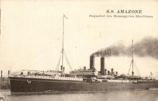 SS Amazone, SS Amazone gőzös