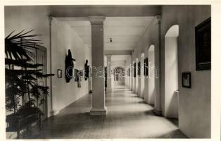 Vác, Püspöki Szeminárium, folyosó, belső