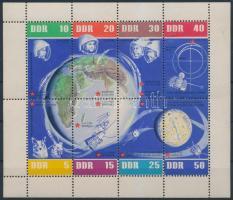 1962 Űrkutatás kisív Mi 926-933