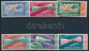 1966 Űrkutatás sor Mi 189-194 A