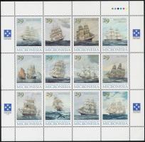 1993 Hajók kisív Mi 277-288