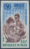 1967 UNICEF vágott bélyeg Mi 176
