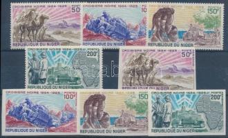 1969 Expedíció fogazott + vágott sor Mi 229-232
