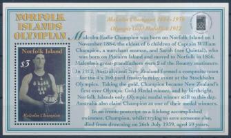 2000 OLYMPHILEX bélyegkiállítás blokk Mi 36