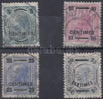 1904 Forgalmi Mi 1-4