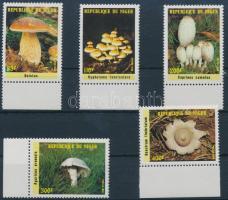 Mushrooms margin set, Gomba ívszéli sor